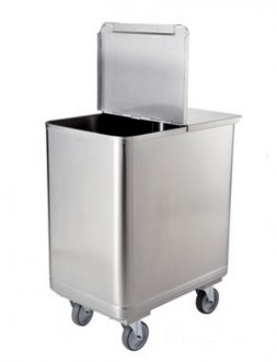 Chariot inox à farine - Devis sur Techni-Contact.com - 1