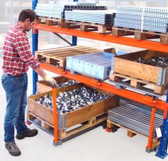 Stockage coulissant pour palette au sol - Devis sur Techni-Contact.com - 2