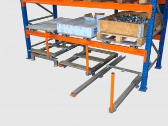 Stockage coulissant pour palette au sol - Devis sur Techni-Contact.com - 5