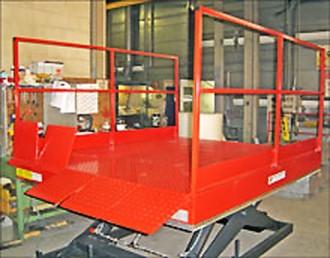 Table élévatrice hydraulique pour quai - Devis sur Techni-Contact.com - 1