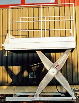 Table élévatrice hydraulique pour quai - Devis sur Techni-Contact.com - 2