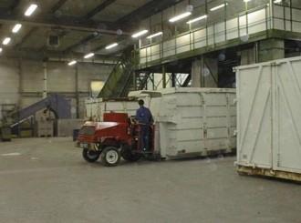 Chariot automoteur pour benne à déchets - Devis sur Techni-Contact.com - 2