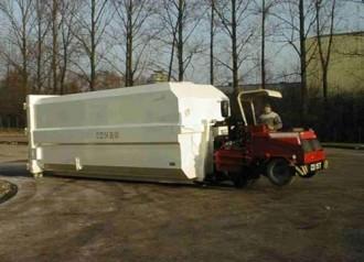 Chariot automoteur pour benne à déchets - Devis sur Techni-Contact.com - 3