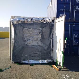 Isolation thermique conteneur - Devis sur Techni-Contact.com - 2