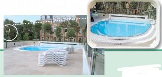Miroir de surveillance extérieur pour piscine - Devis sur Techni-Contact.com - 1