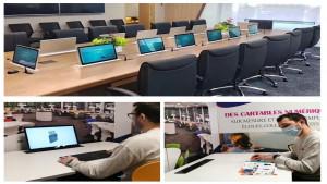 Ecran escamotable automatique pour table - Devis sur Techni-Contact.com - 1