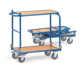 Chariot à dossier pliable 250 Kg - Devis sur Techni-Contact.com - 1