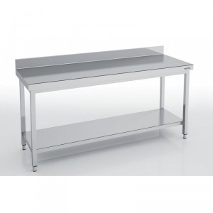 Table adossée en inox - Devis sur Techni-Contact.com - 1