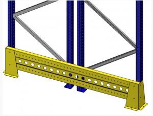 Protection échelles de rayonnage palettes - Devis sur Techni-Contact.com - 1