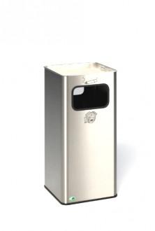 Cendrier poubelle rectangulaire - Devis sur Techni-Contact.com - 1