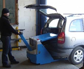 Transpalette gerbeur 1 mètre électrique - Devis sur Techni-Contact.com - 1