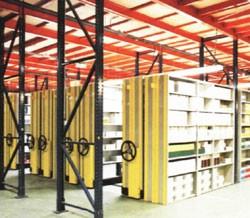 Rayonnage mobile métallique distributeur - Devis sur Techni-Contact.com - 1
