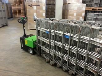 Tracteur pousseur électrique 3500 kg - Devis sur Techni-Contact.com - 11