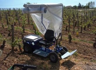 Tracteur vigneron électrique - Devis sur Techni-Contact.com - 3