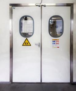 Porte industrielle semi isotherme - Devis sur Techni-Contact.com - 5