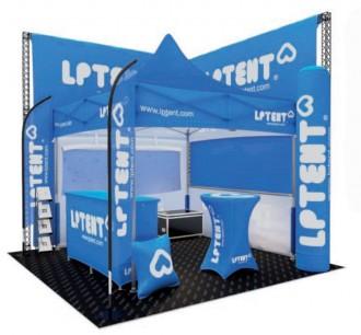 Tente de réception personnalisable - Devis sur Techni-Contact.com - 1