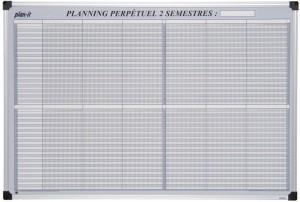 Planning semestriel perpétuel - Devis sur Techni-Contact.com - 1