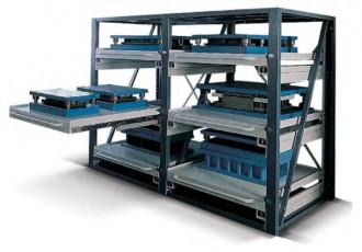 Rayonnage à plateaux-tiroirs - Devis sur Techni-Contact.com - 1