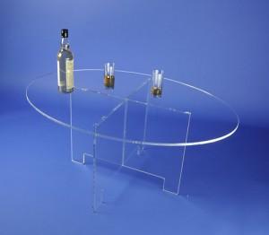 Table ovale démontable plexiglas - Devis sur Techni-Contact.com - 6