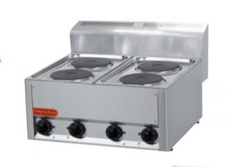 Table de cuisson électrique en inox - Devis sur Techni-Contact.com - 2