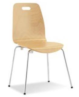 Chaise café en hêtre - Devis sur Techni-Contact.com - 1