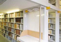 Rayonnage fixe métallique bibliothèque - Devis sur Techni-Contact.com - 1