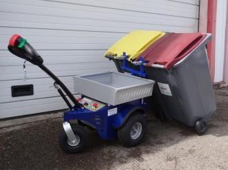 Tracteur électrique pour container poubelle - Devis sur Techni-Contact.com - 2