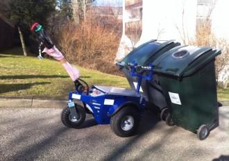 Tracteur électrique pour container poubelle - Devis sur Techni-Contact.com - 3