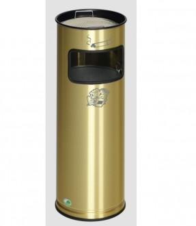 Cendrier poubelle laiton - Devis sur Techni-Contact.com - 1