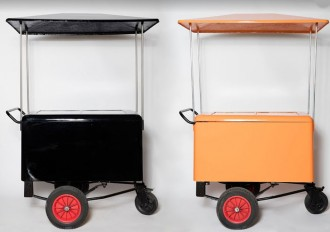Chariot pousse-pousse ambulant - Devis sur Techni-Contact.com - 1