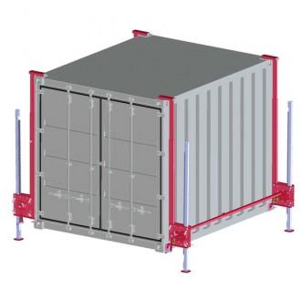 Système de levage container 4 à 20 Tonnes - Devis sur Techni-Contact.com - 1