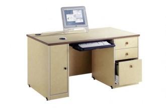 Table informatique avec caisson 3 tiroirs - Devis sur Techni-Contact.com - 1