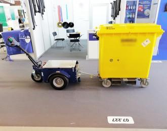 Tracteur pousseur grand conteneur - Devis sur Techni-Contact.com - 2