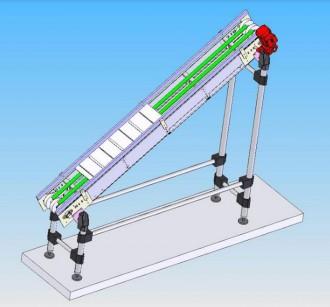 Convoyeur élévateur à bande modulaire - Devis sur Techni-Contact.com - 2