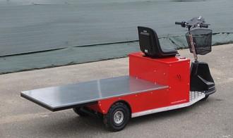 Tracteur électrique de personnel et d'outillage - Devis sur Techni-Contact.com - 1