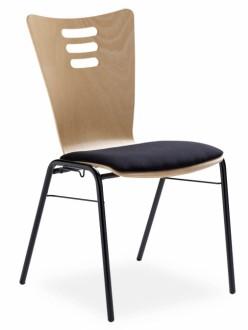 Chaise empilable coque bois - Devis sur Techni-Contact.com - 2