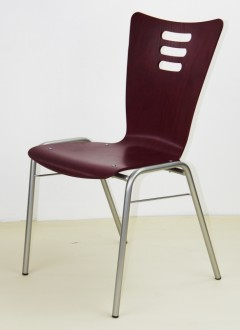 Chaise empilable coque bois - Devis sur Techni-Contact.com - 4