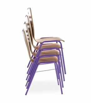 Chaise empilable coque bois - Devis sur Techni-Contact.com - 5