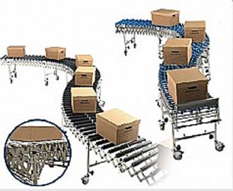 Convoyeur à rouleaux extensible - Devis sur Techni-Contact.com - 3