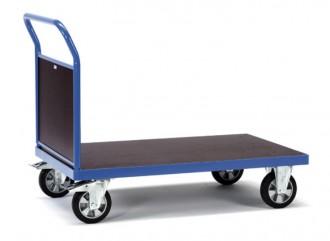 Chariot à plateau antidérapant - Devis sur Techni-Contact.com - 1