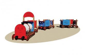 Jeu de train en bois pour enfants - Devis sur Techni-Contact.com - 1