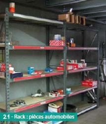 Rayonnage semi lourd pièces automobiles - Devis sur Techni-Contact.com - 2