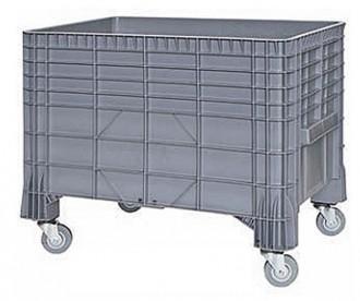 Chariot caisse plastique 285 litres - Devis sur Techni-Contact.com - 1