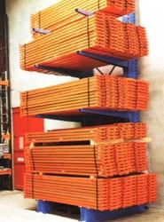 Rayonnage metallique modulaire pour bois - Devis sur Techni-Contact.com - 1