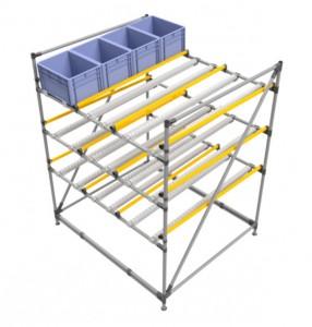 Stockeur 3 niveaux pour bac manutention - Devis sur Techni-Contact.com - 1