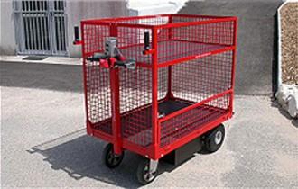 Chariot à plateau motorisation électrique - Devis sur Techni-Contact.com - 1