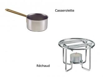 Casserolette et réchaud - Devis sur Techni-Contact.com - 1