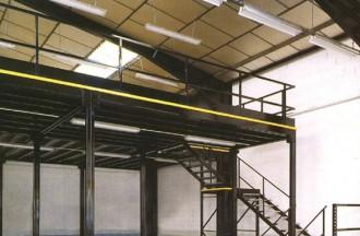 Plateforme mezzanine stockage industrielle - Devis sur Techni-Contact.com - 1