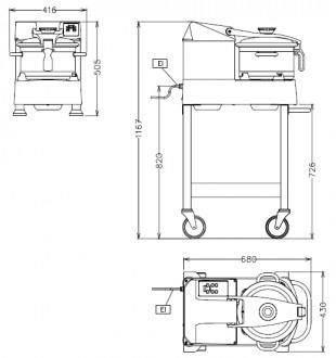 Cutter-mélangeur vertical - Devis sur Techni-Contact.com - 2