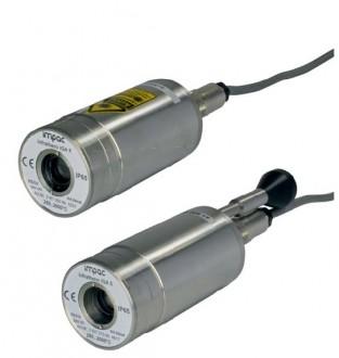 Pyromètre infrarouges fixe lampe pilote laser - Devis sur Techni-Contact.com - 1